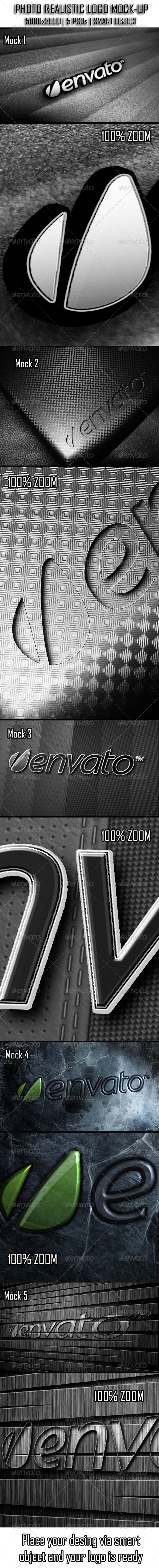 GraphicRiver Photorealistic Logo Mock-Ups 5736743