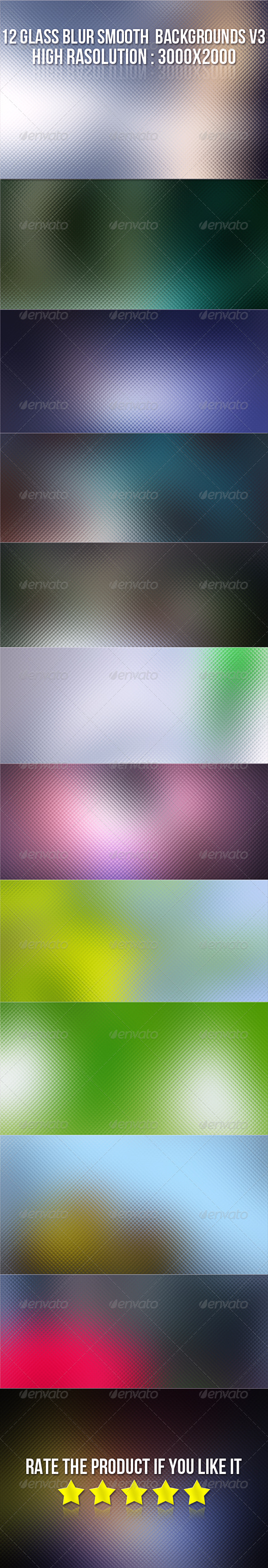 GraphicRiver 12 Glass Blur Backgrounds V3 5770630