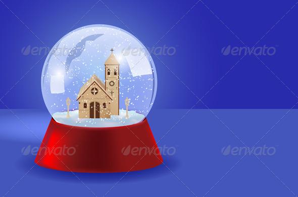 GraphicRiver Christmas Snow Ball 5770672