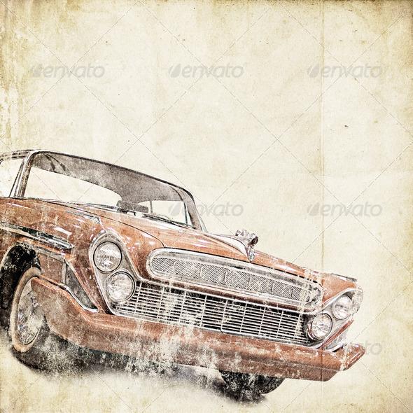 retro background - Stock Photo - Images