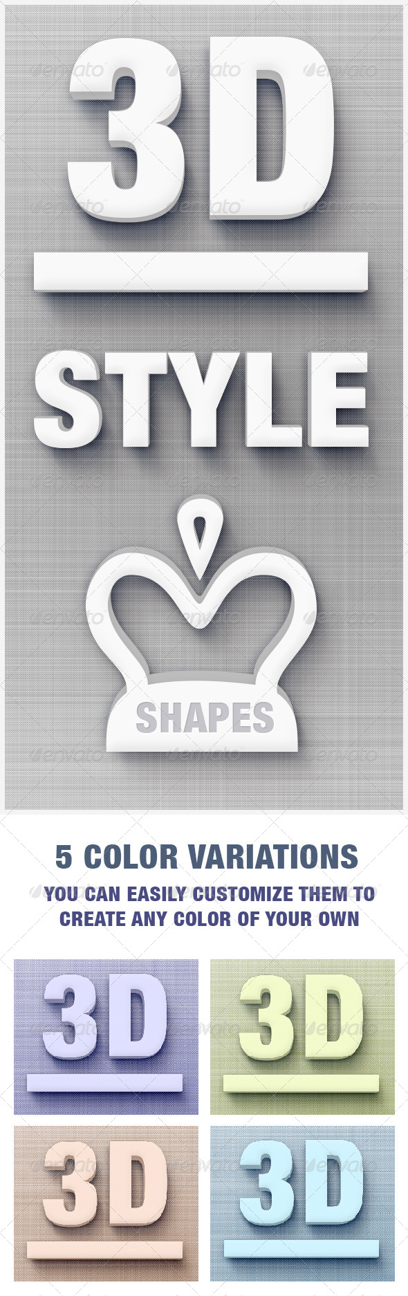 GraphicRiver 3D Style 3D Text Creator 5770723