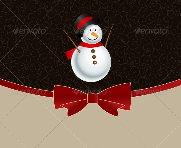 GraphicRiver Abstract Christmas and New Year Background 5771073