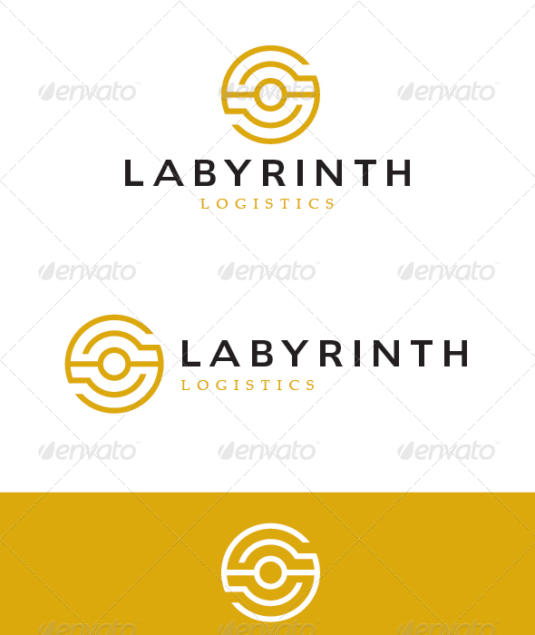GraphicRiver Abstract Maze Symbol Logo 5759067