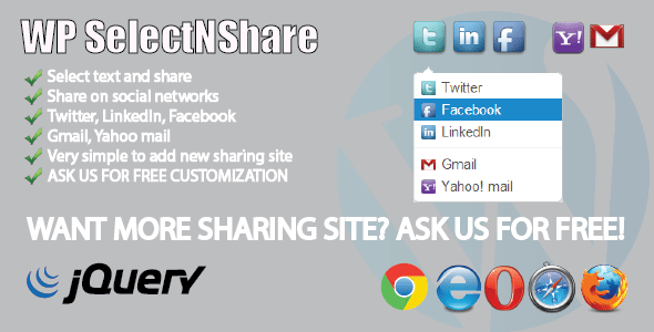 CodeCanyon WP SelectNShare 5771250