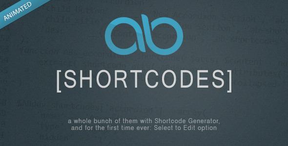 CodeCanyon AB Shortcodes WordPress Plugin 5771491
