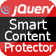 Smart Content Protector - jQuery Copy Protection