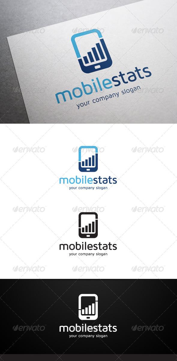 GraphicRiver Mobile Stats Logo 5774526
