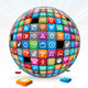 Apps Background Concept - GraphicRiver Item for Sale