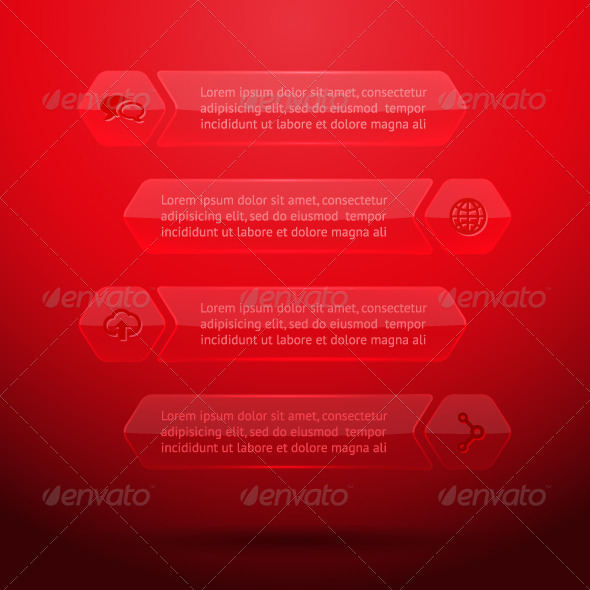 GraphicRiver Glass Elements of Infographics 5774712