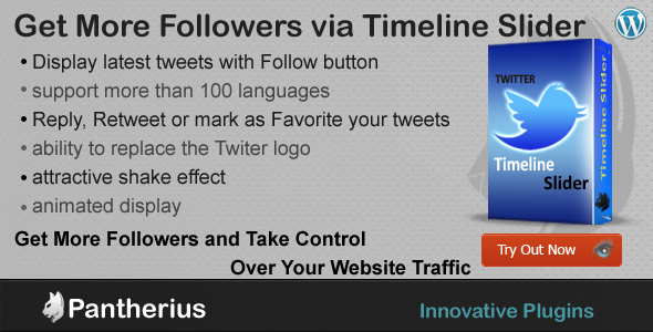 CodeCanyon Twitter Timeline Slider for Wordpress 5747430