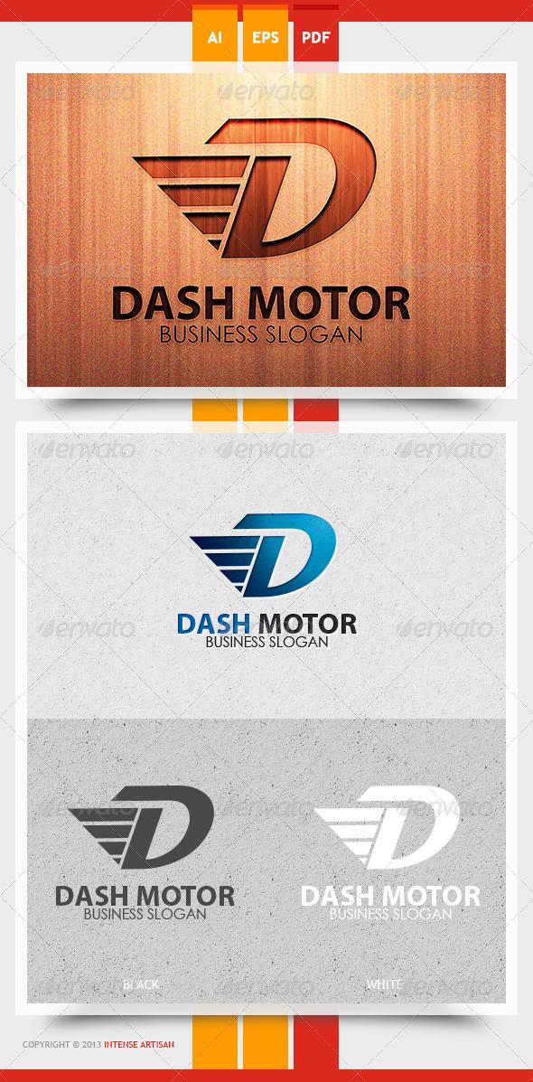 GraphicRiver Dash Motor Logo Template 5774908