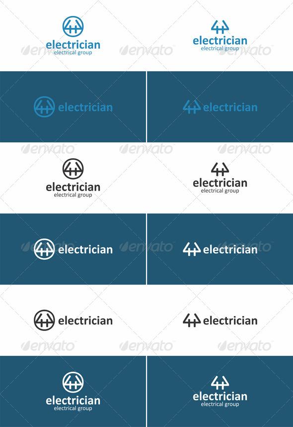 Electrician Creative Logo