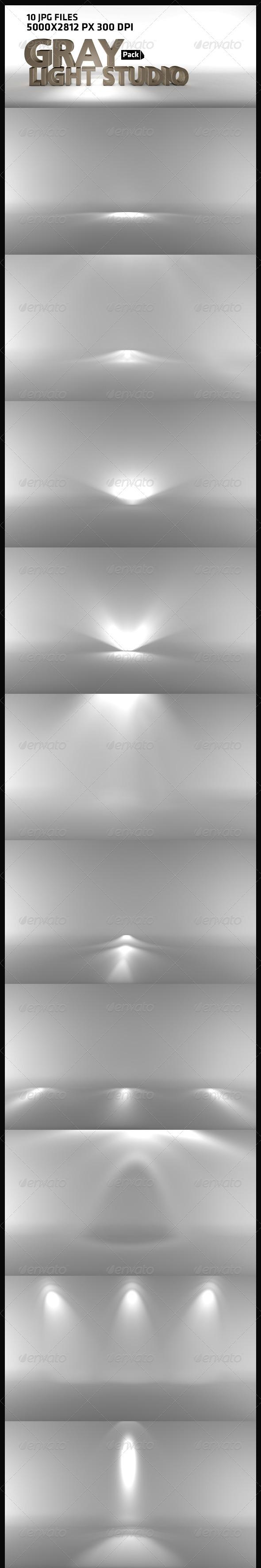 Gray Light Studio - Abstract Backgrounds