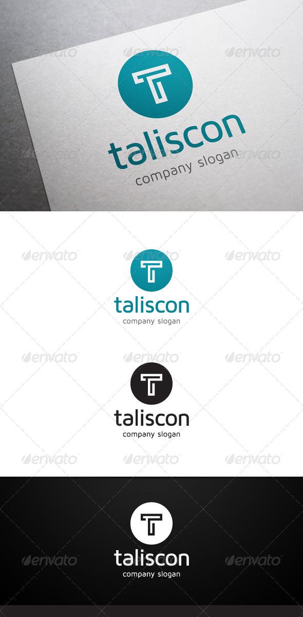 GraphicRiver Taliscon T Letter Logo 5775897