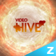 HD Fire Hole Logo - VideoHive Item for Sale