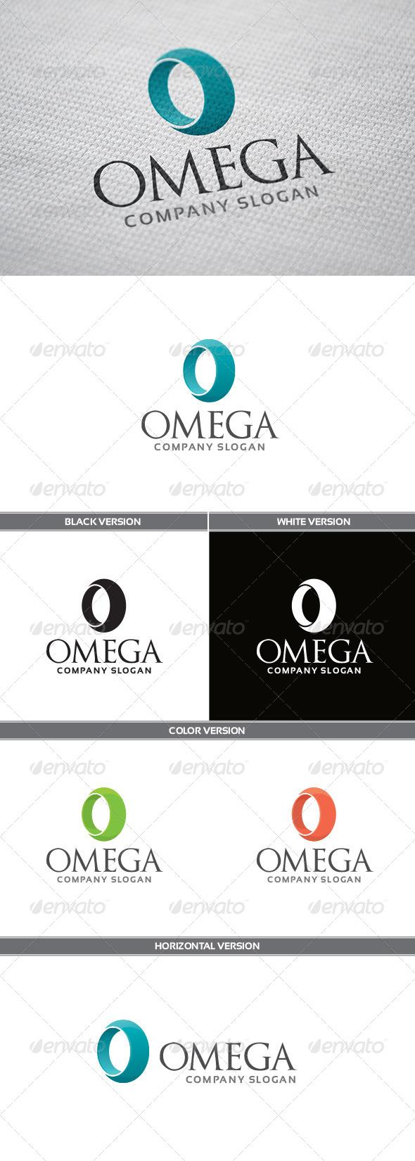 GraphicRiver Omega Logo 5776486