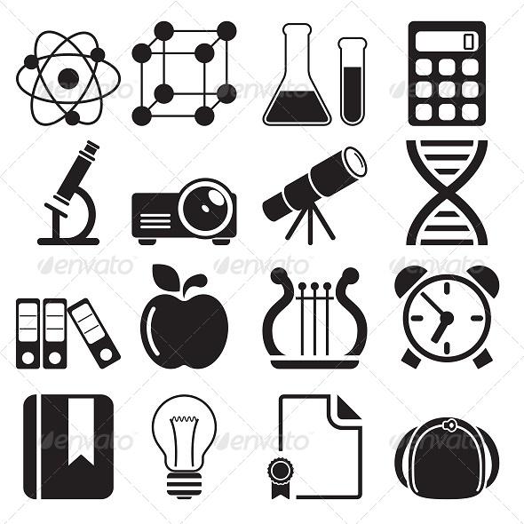 GraphicRiver Education Icons Vol 2 5776798