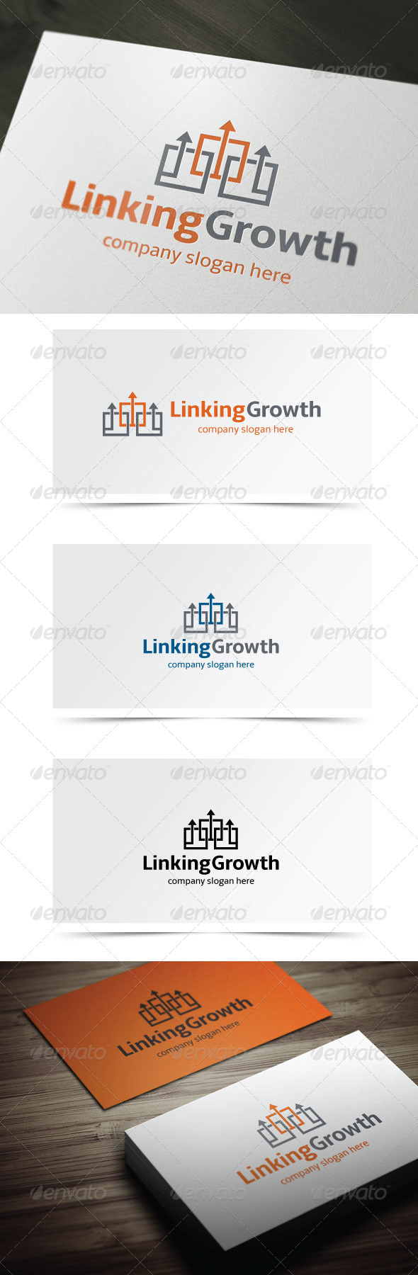 GraphicRiver Linking Growth 5776848