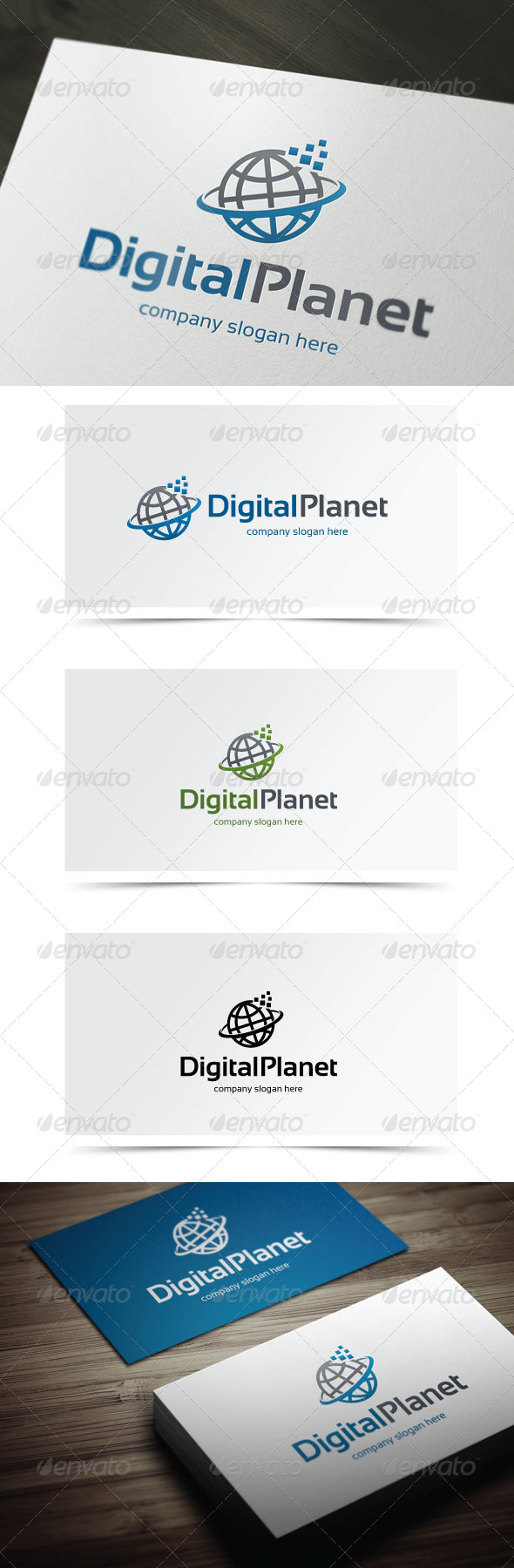 GraphicRiver Digital Planet 5776877