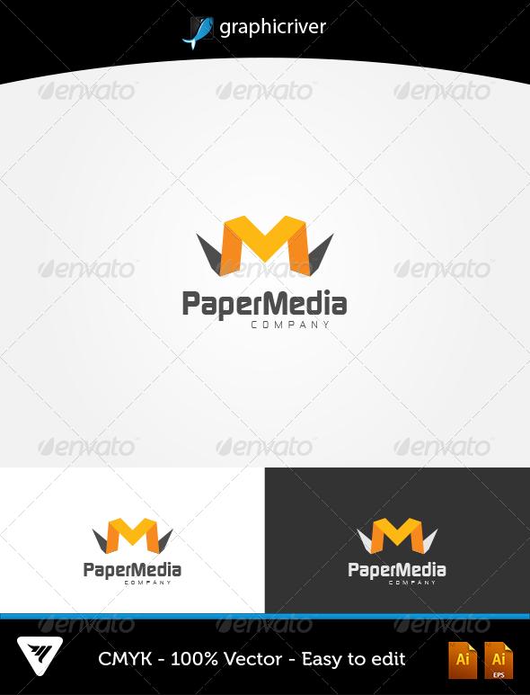 GraphicRiver PaperMedia Logo 5757689