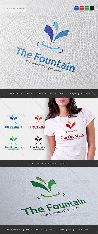 GraphicRiver The Fountain Logo 5776980