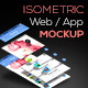 Isometric Web / App Mockup - GraphicRiver Item for Sale
