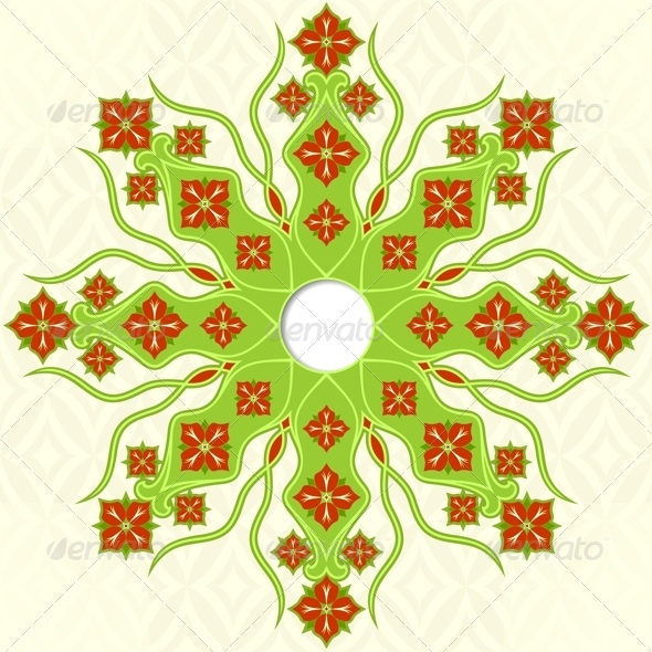 GraphicRiver Floral Ornament 5778705
