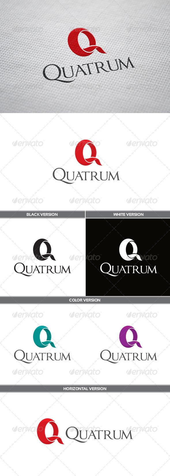 GraphicRiver Quatrum Logo 5779052