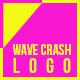 Wave Crash Logo Reveal - VideoHive Item for Sale