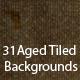 31 Aged Tiled Backgrounds - ActiveDen Item for Sale