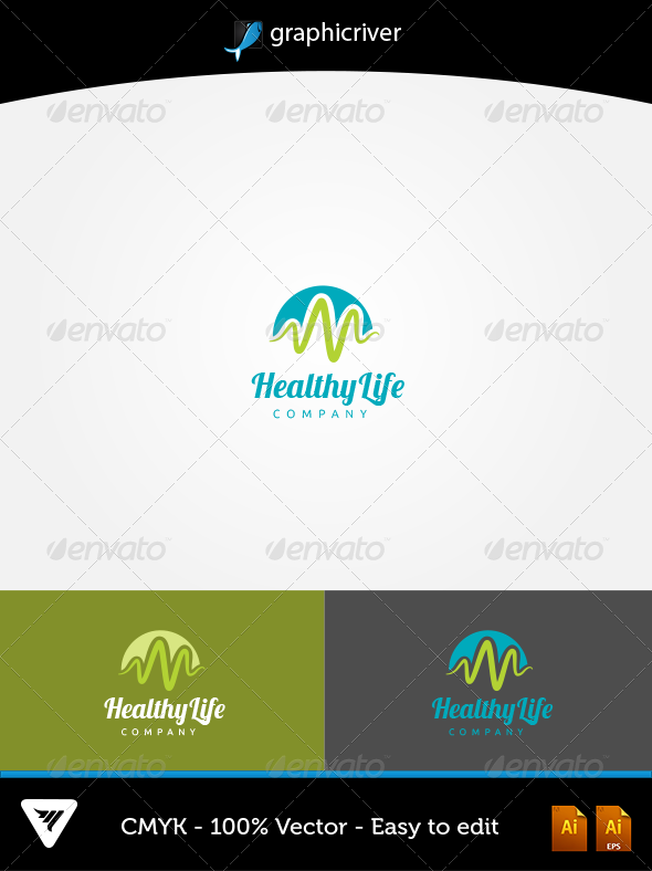 GraphicRiver HealthyLife Logo 5757920