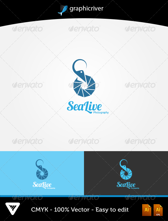 GraphicRiver SeaLive Logo 5758130