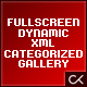 The Full View: Fullscreen Dynamic XML Categorized Image Gallery - ActiveDen Item for Sale