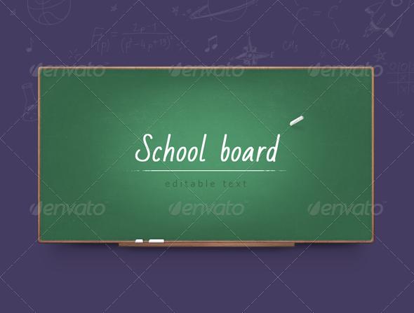 GraphicRiver School Board 5779807