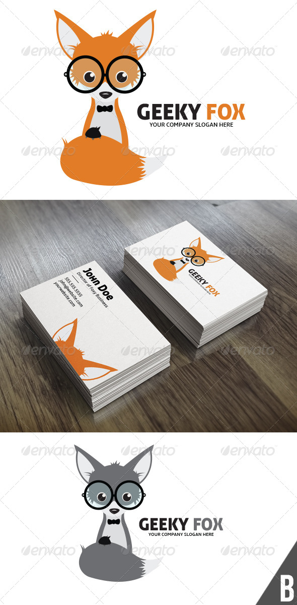 GraphicRiver Geeky Fox 5780258