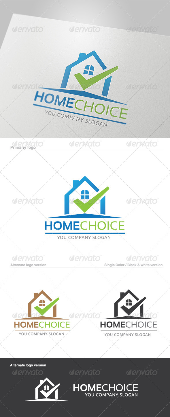 GraphicRiver Home Choice Logo 5780930