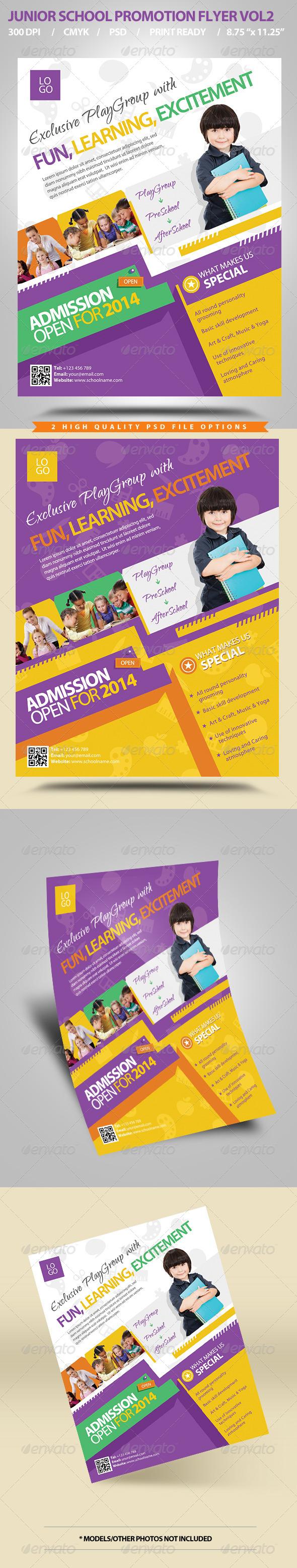 GraphicRiver Junior School Promotion Flyers Vol2 5781235