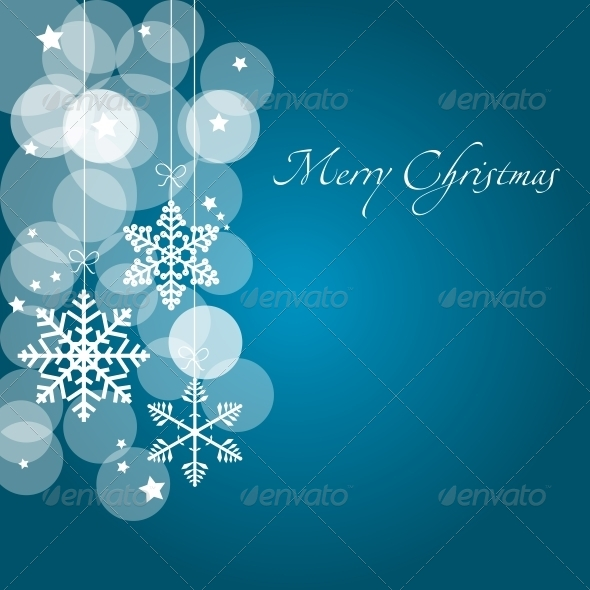GraphicRiver Abstract Christmas and New Year Background 5781606