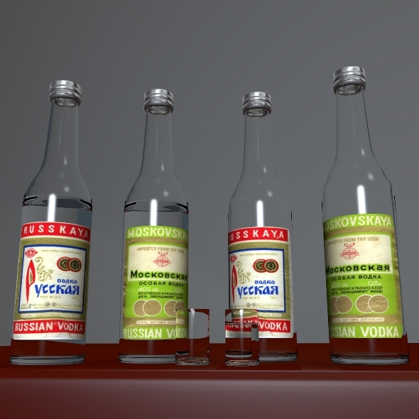 3DOcean Russian Vodka 599402