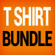 T-Shirts Mock-Up Bundle - GraphicRiver Item for Sale