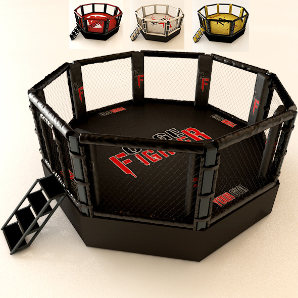 3DOcean Realistic Mma Cage 5786016