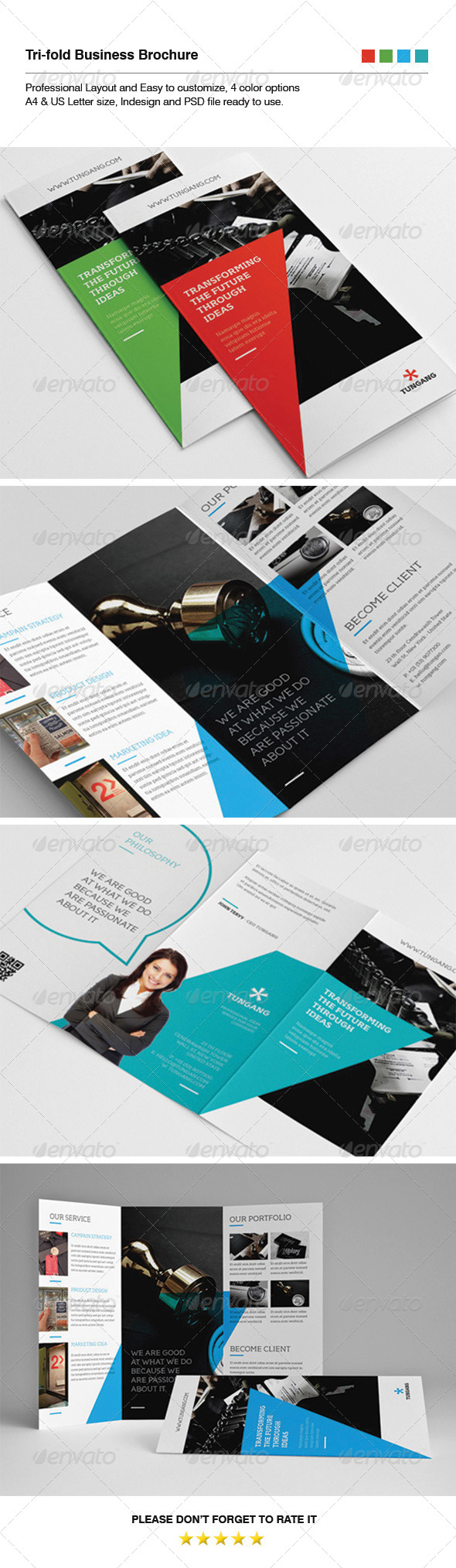 GraphicRiver Business Brochure 5786019