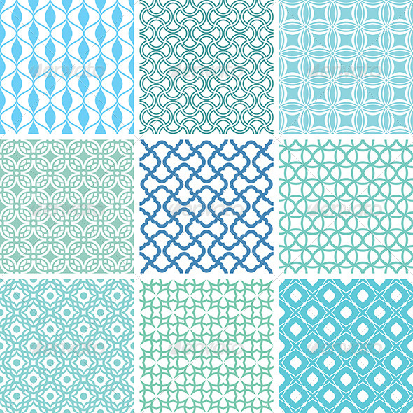GraphicRiver Abstract Vector Patterns 5786022