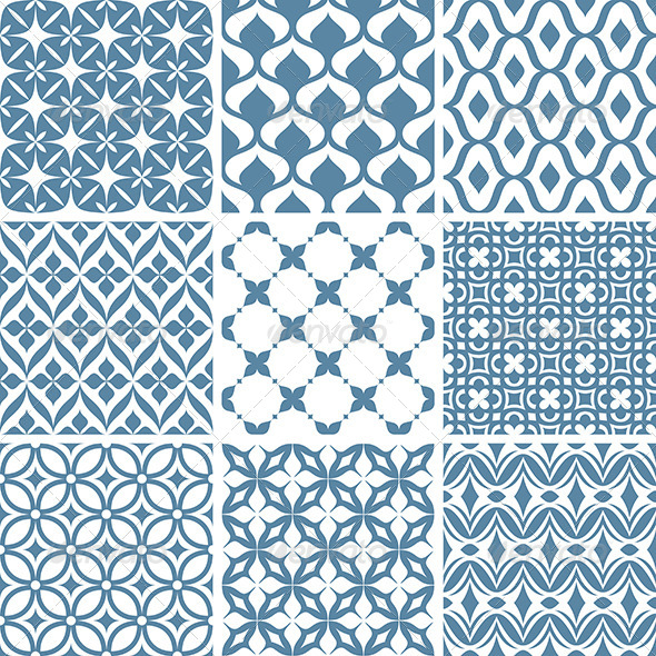 GraphicRiver Abstract Vector Patterns 5786033