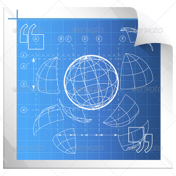 GraphicRiver Technical Drawing 5786597