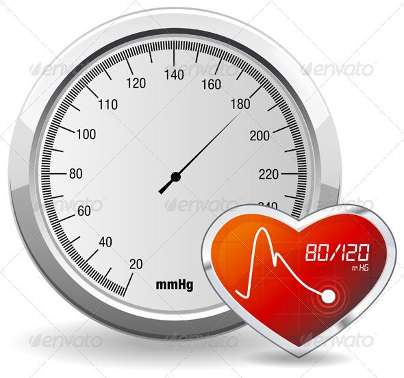 GraphicRiver Blood Pressure Monitoring 5786744
