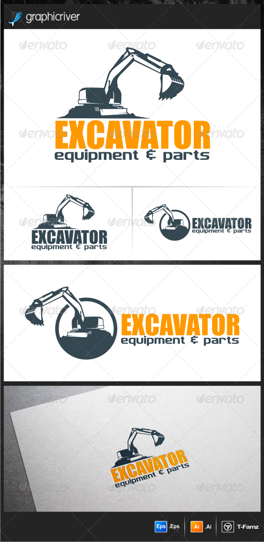 Excavator Logo Templates