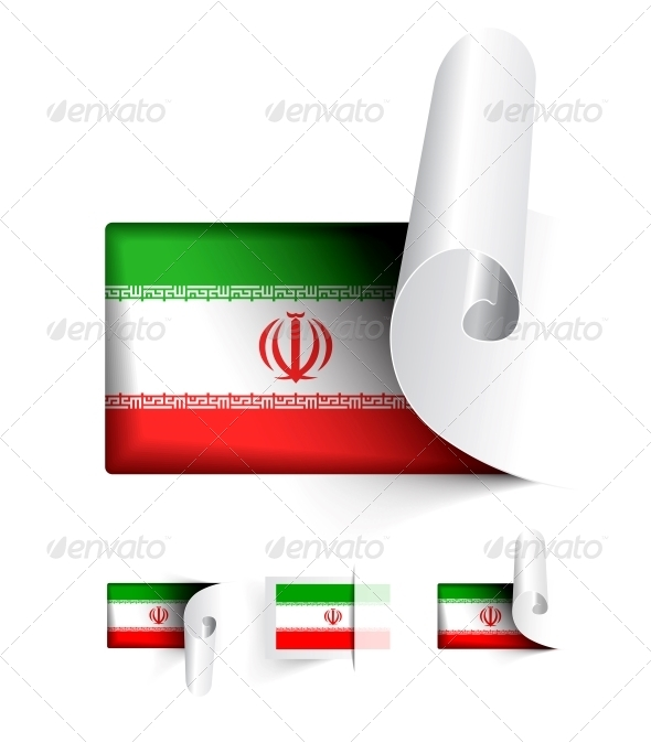 GraphicRiver Flag of Iran 5786901