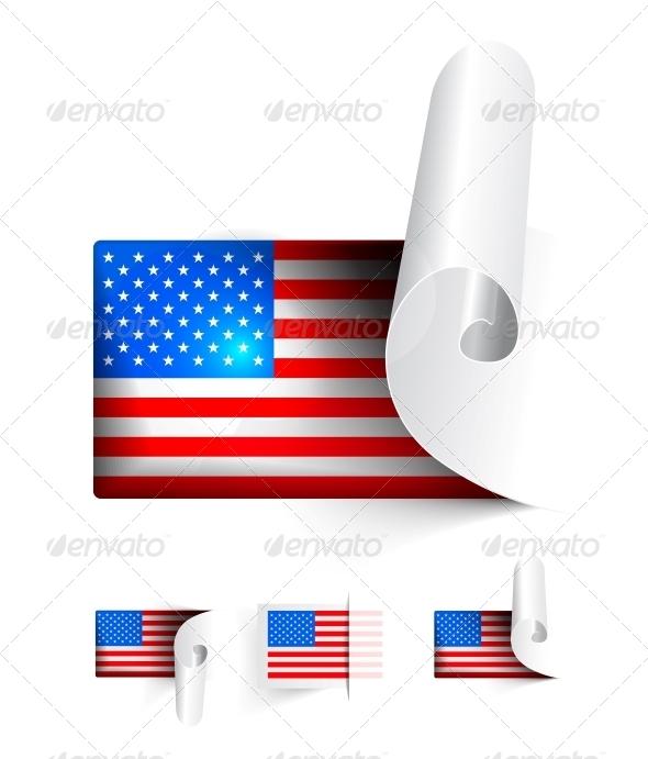 GraphicRiver Flag of USA 5786903