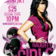 Naughty Girls Flyer Template - GraphicRiver Item for Sale